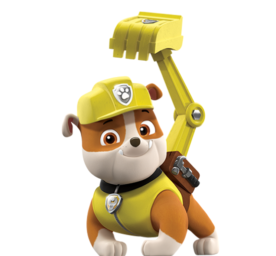 PAW Patrol Rubble Nick Asia png