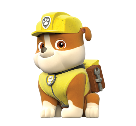 Paw Patrol Rubble Png image #41904