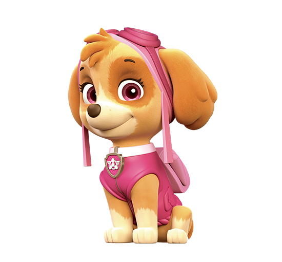 Paw Patrol Skye Character Png image #41901
