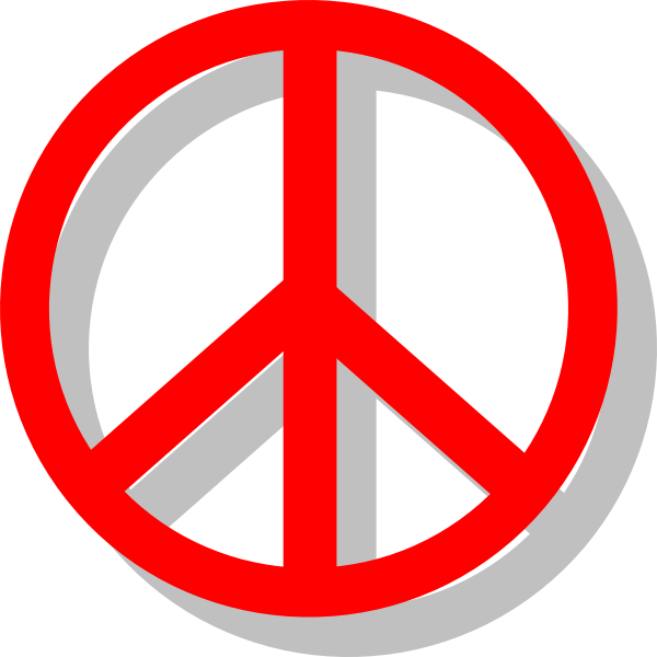 PNG Peace Sign Clipart image #19826