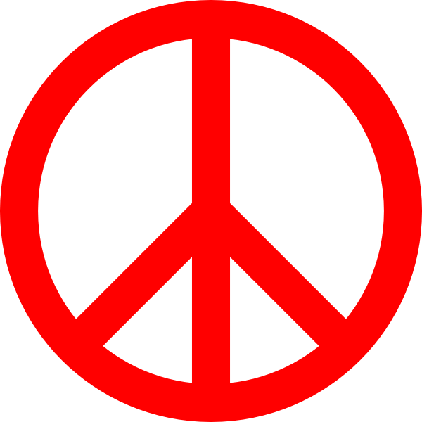 Clipart Png Peace Sign Download