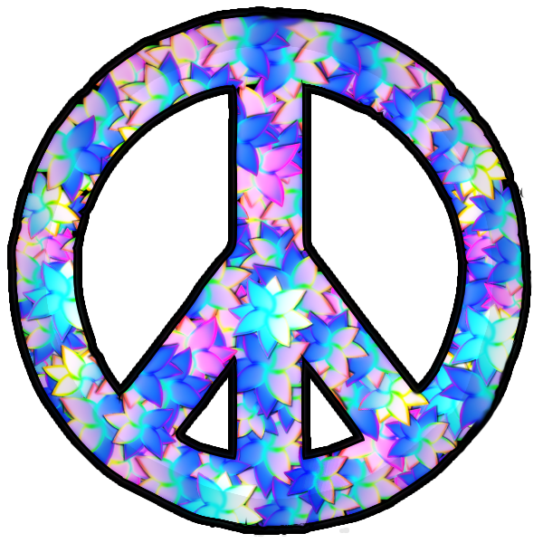 Free Download Of Peace Sign Icon Clipart