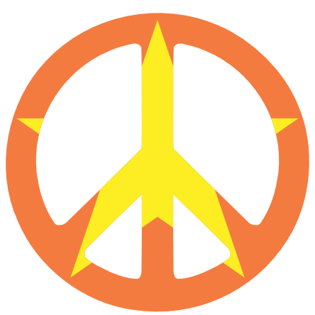 Transparent Peace Sign PNG image #19824