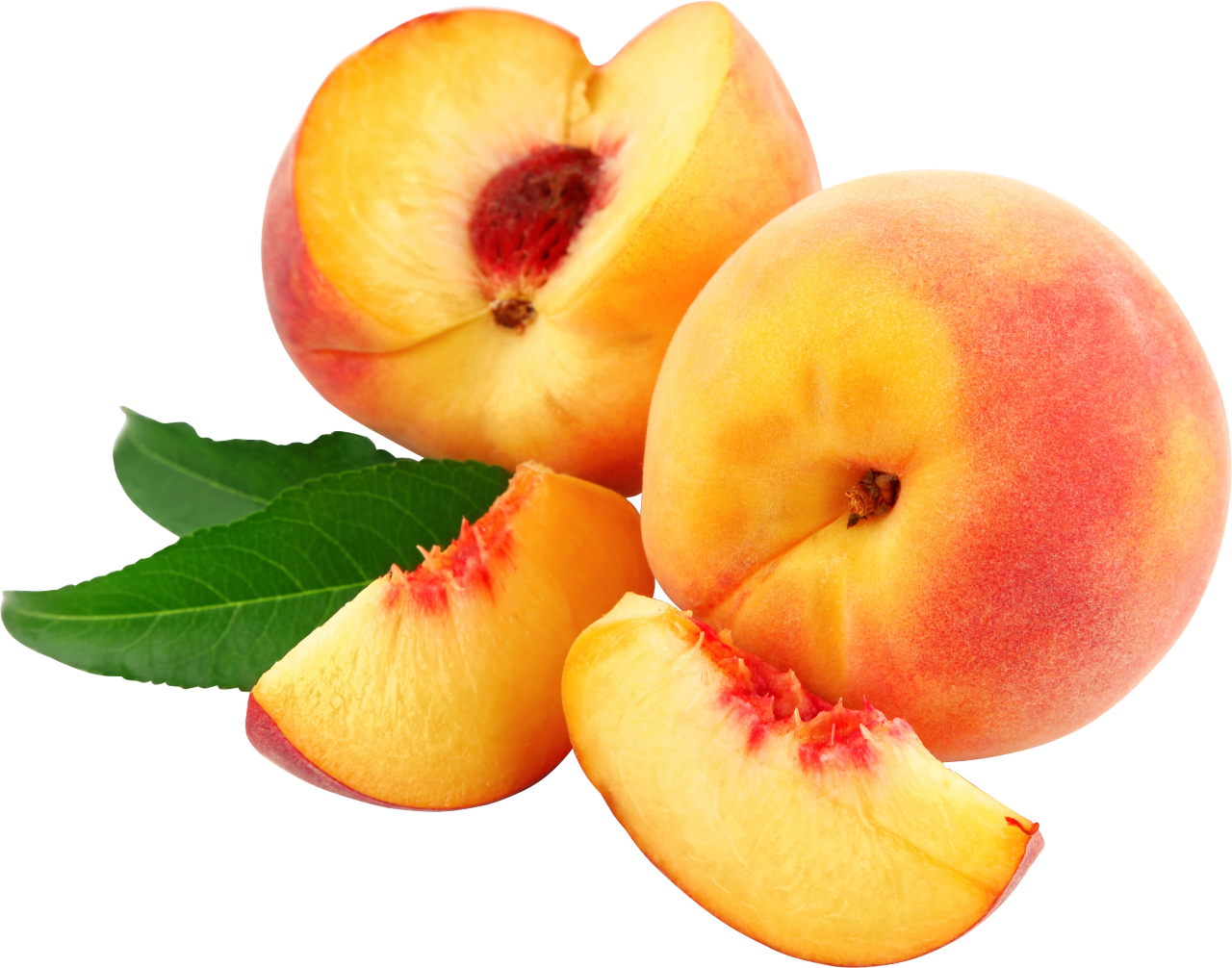 peaches slices png