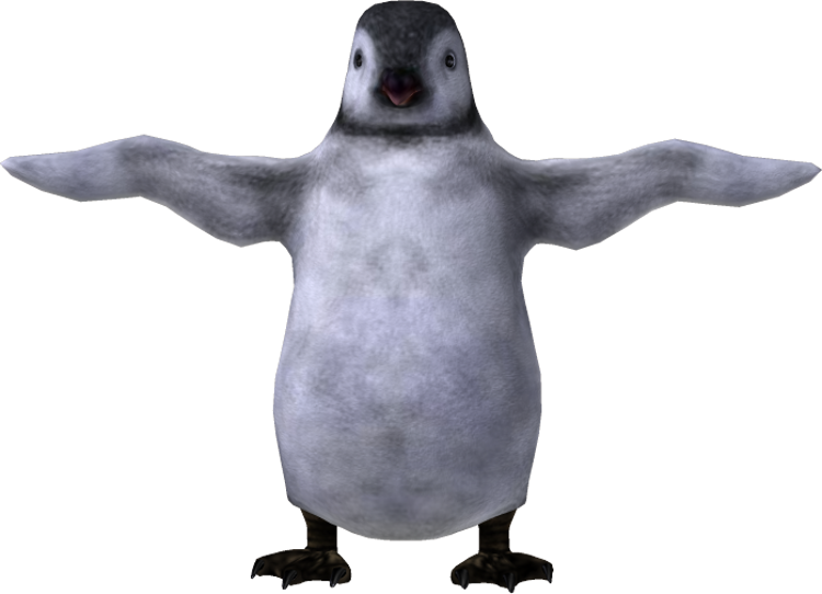 Image Penguin PNG image #19552