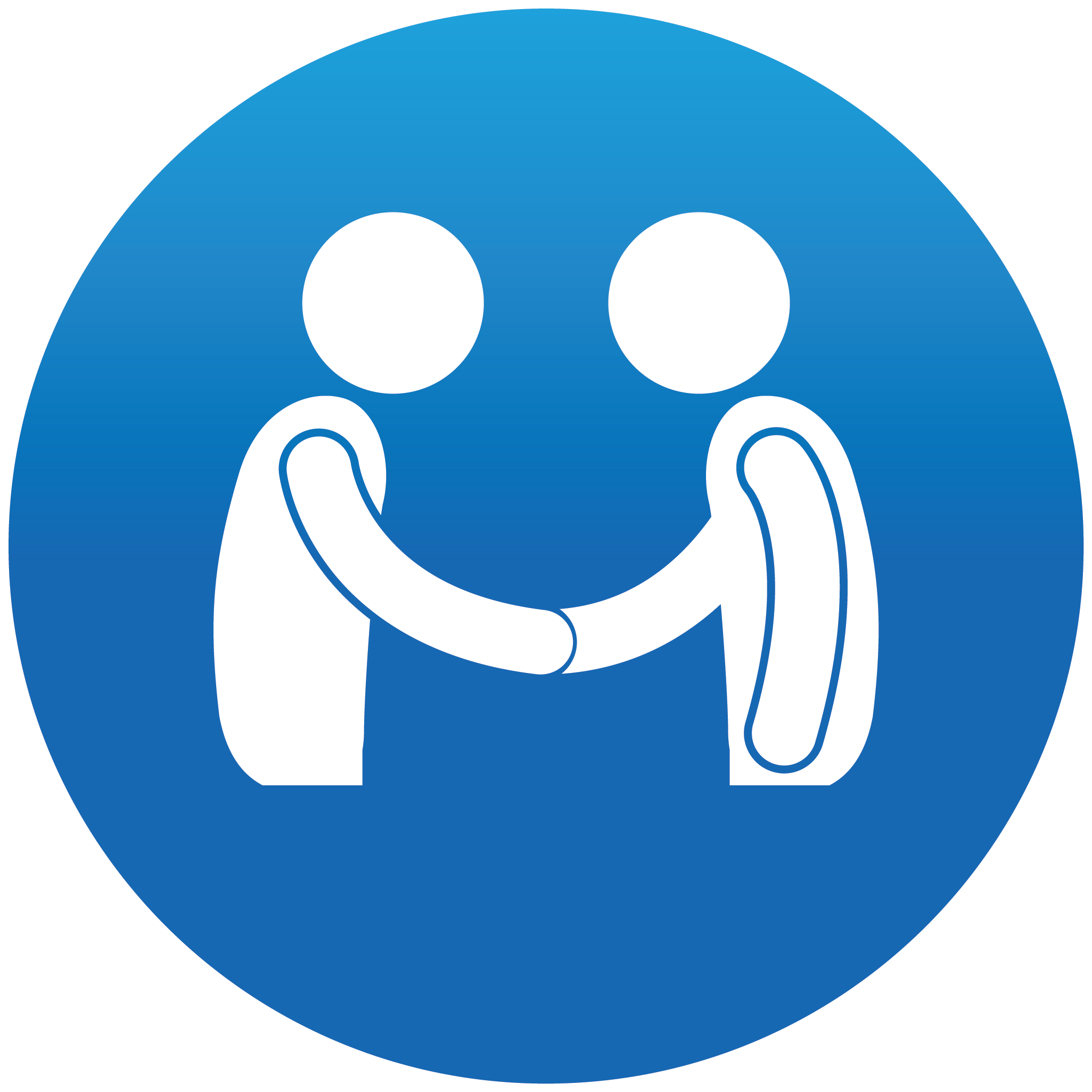 People Handshake Icon Meeting People Icon image #35502