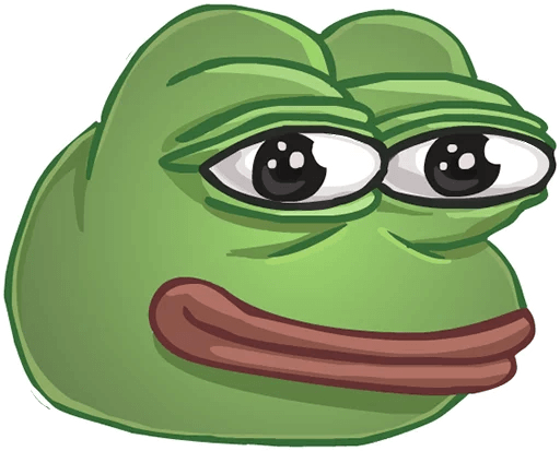 Pepe Face PNG Picture image #45781