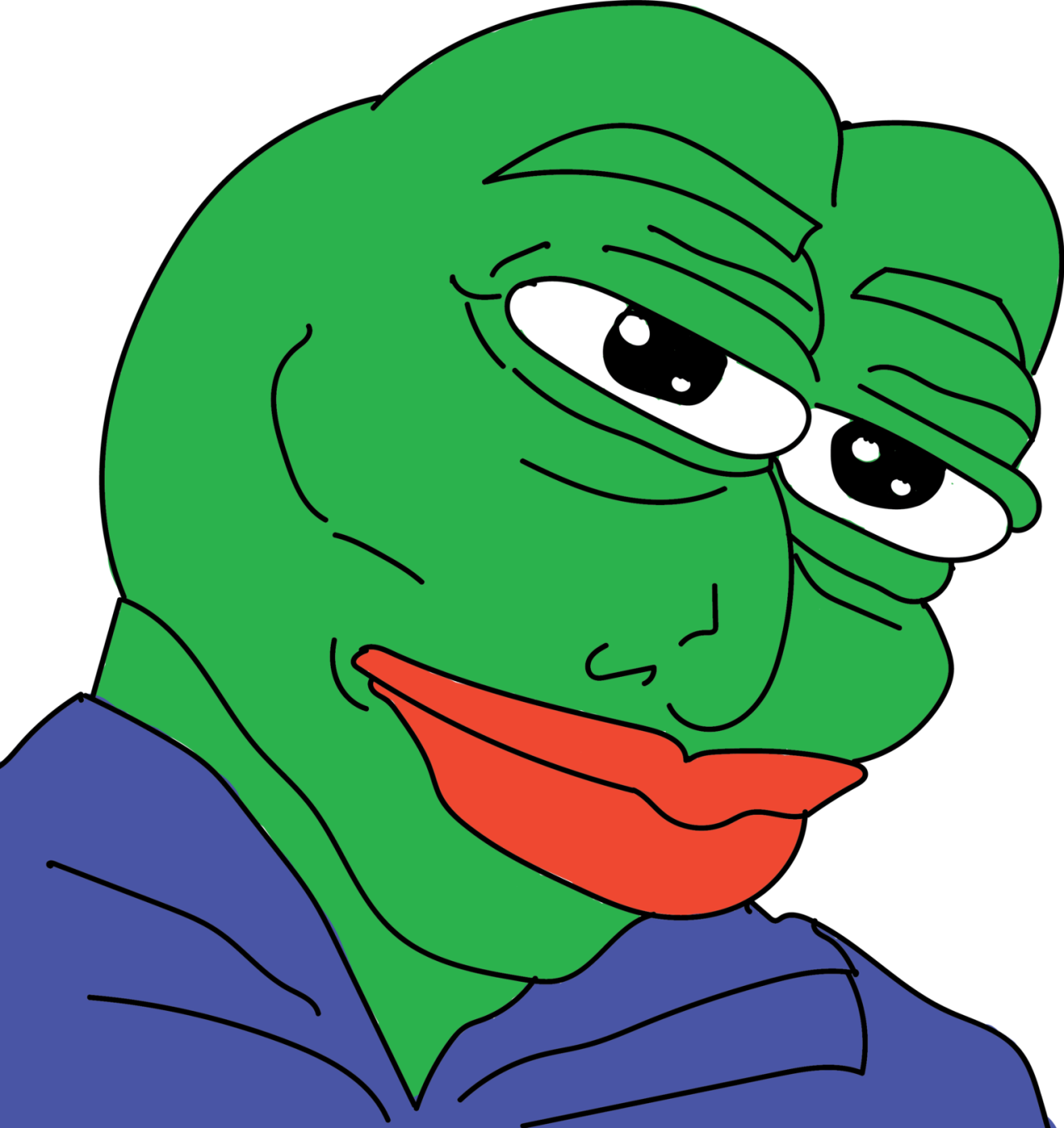 Pepe Faces Transparent PNG