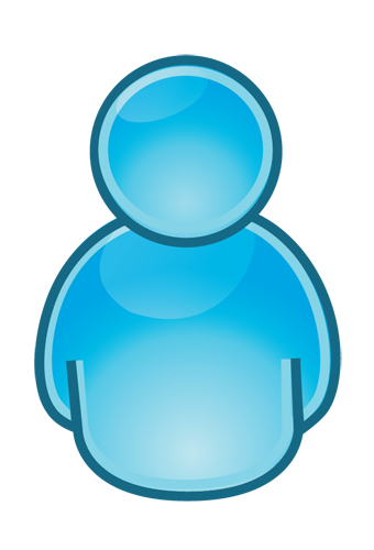 Person Blue Download Icons Png #7557 - Free Icons and PNG