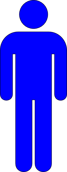 Icon Free Image Person Blue