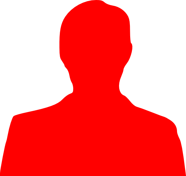 Person  Red Icon Free image #7538