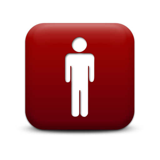 Free High-quality Person  Red Icon image #7524