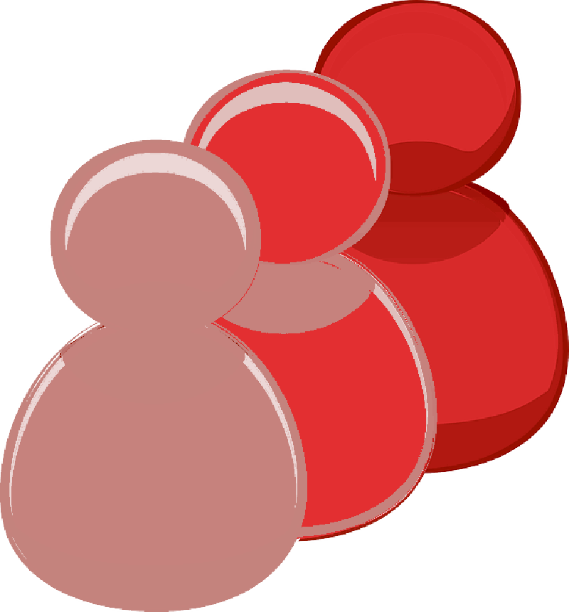 Icon Person  Red Png Free image #7527