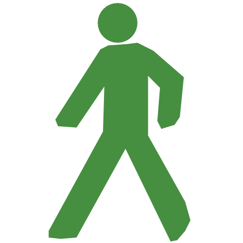 Person Walking Icon image #7401