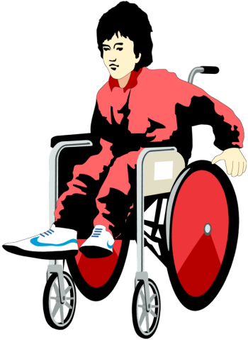 Person, Wheelchair, People Png image #40991