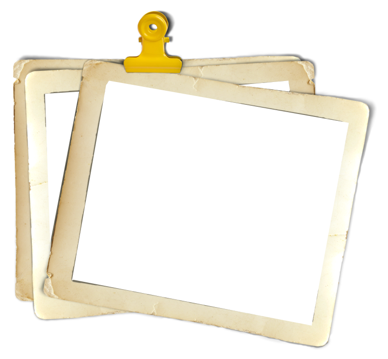 Download Clipart Photo Frame Png image #24592