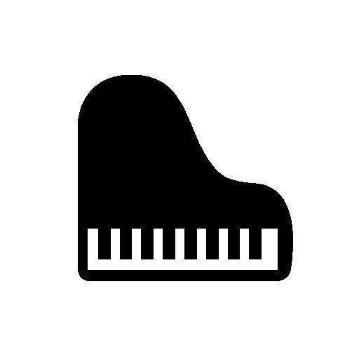 Download Piano Png Icon image #11851