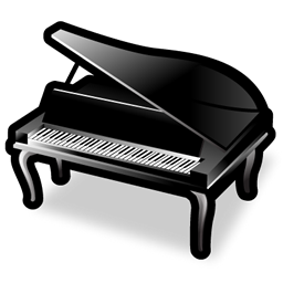 Library Icon  Piano image #11867