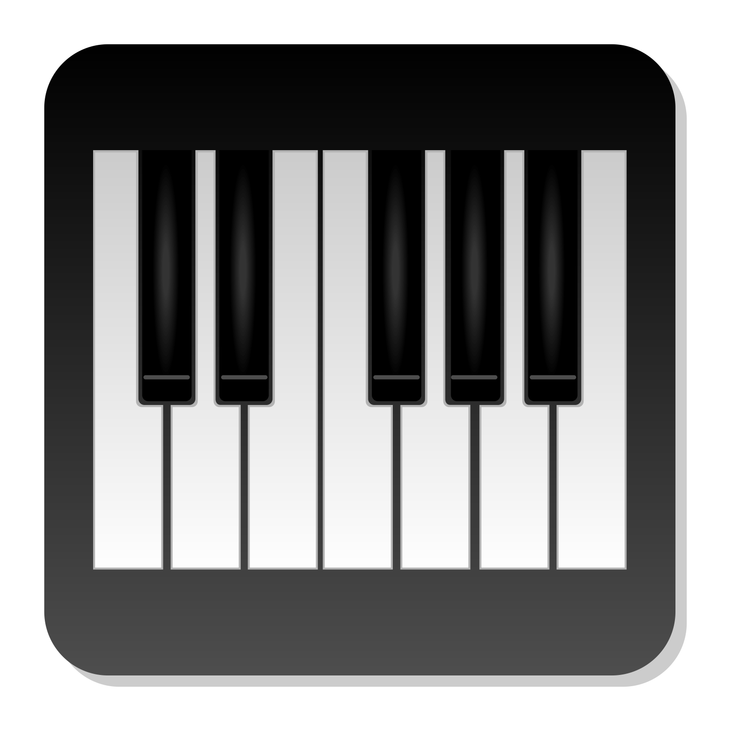Piano Icons Png Vector Free Icons And Png Backgrounds