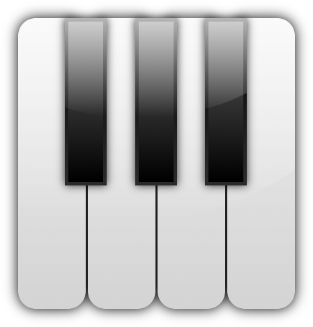 Drawing Icon Piano