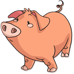 Pig Icon Png image #32319