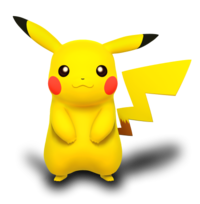 Icon Pikachu Vector image #17342