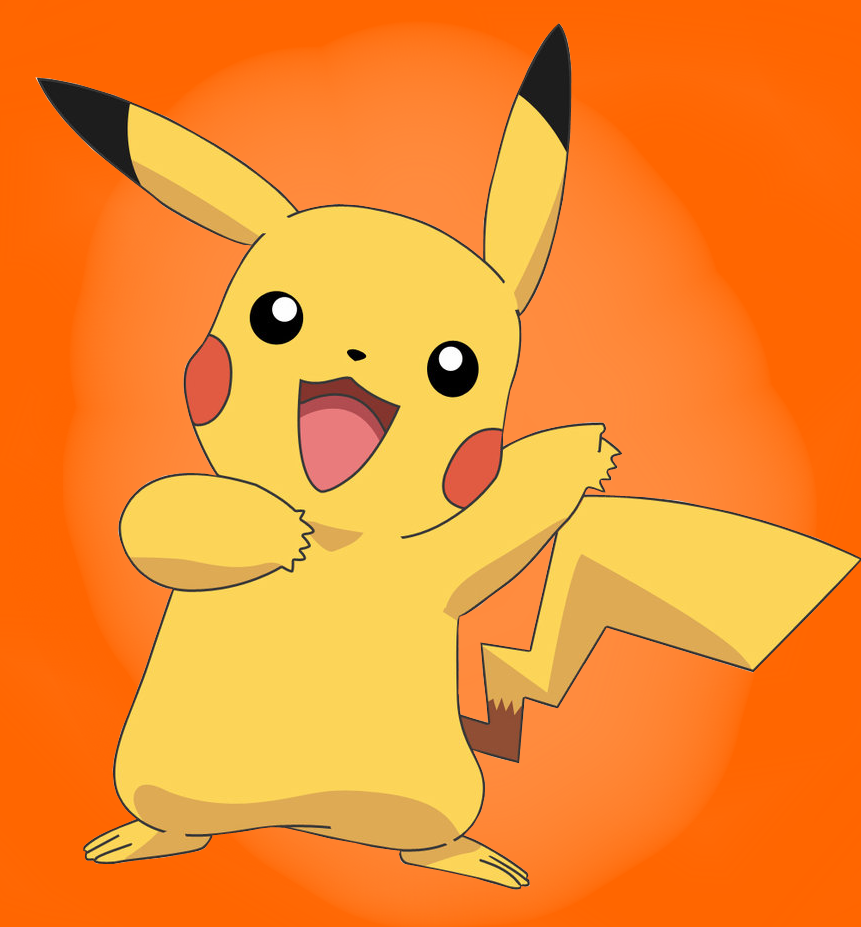 Icon Vector Pikachu image #17353