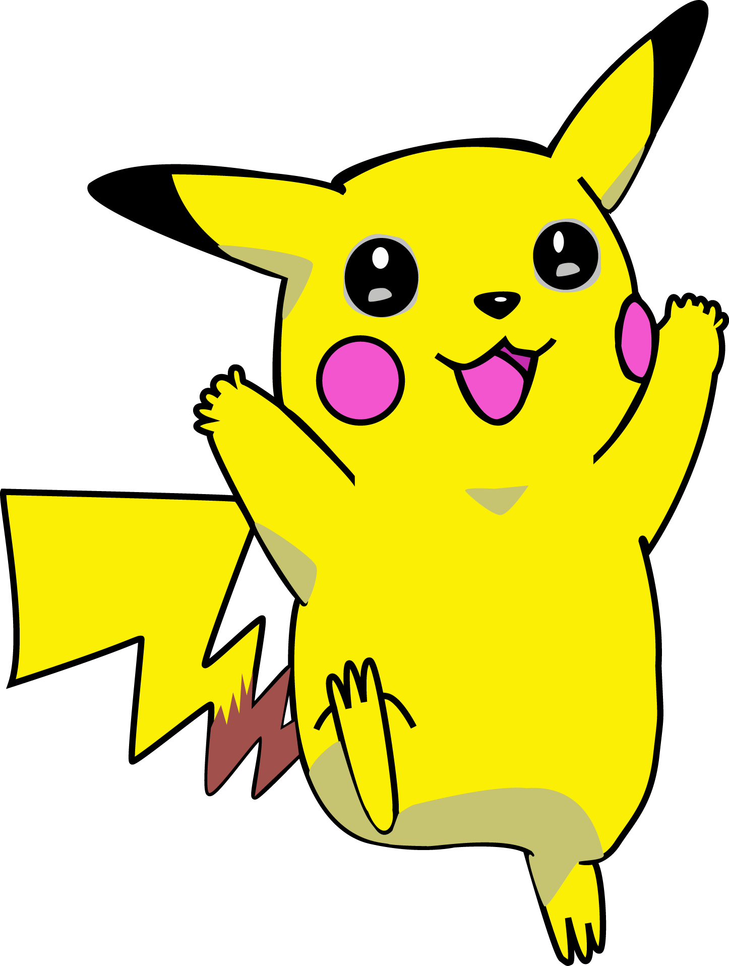 Pikachu Free Vector image #17358