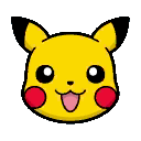 Pikachu Icon Vector image #17360