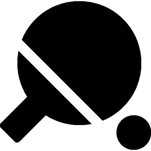 Ping Pong Bat Icon image #39424