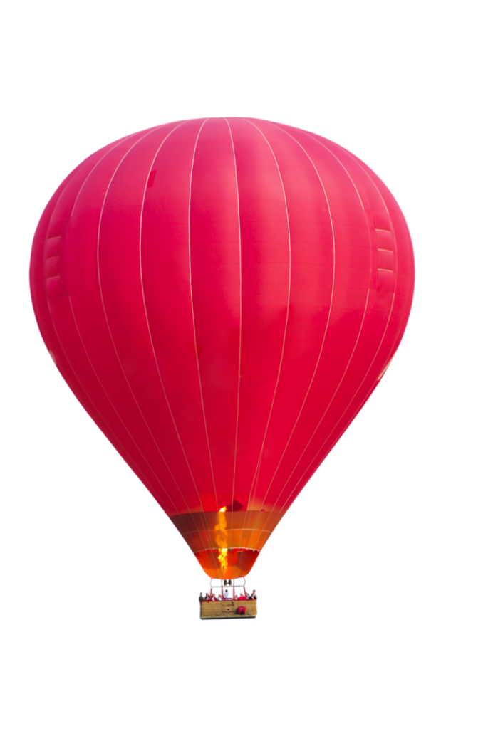 Pink Air Balloon Icon Symbol image #46771