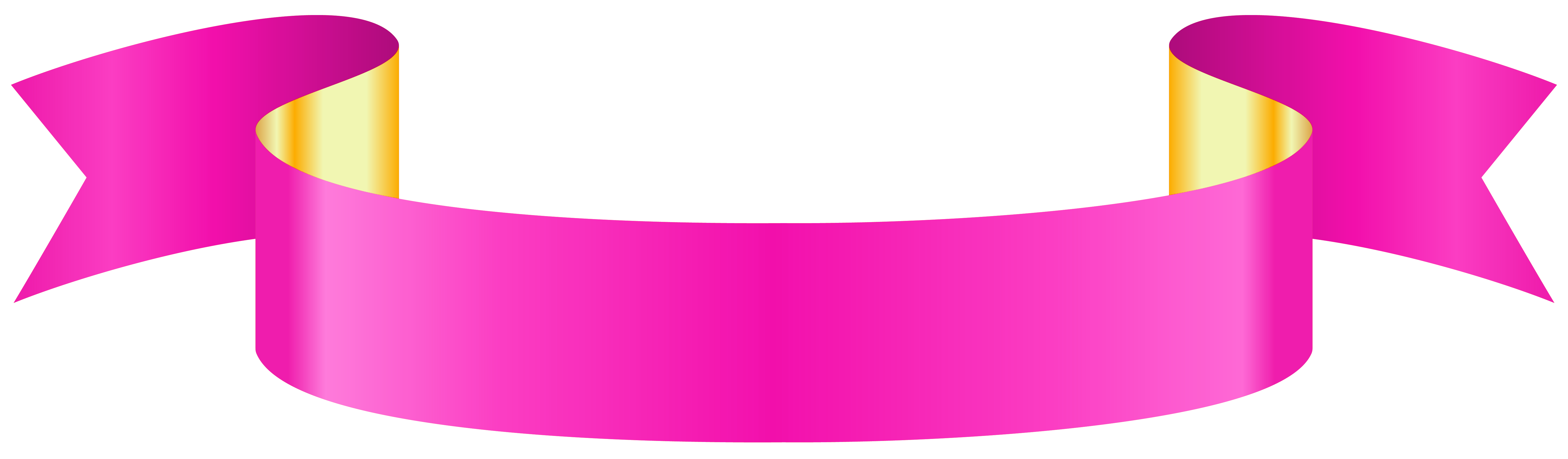 Pink Banner Png image #40221