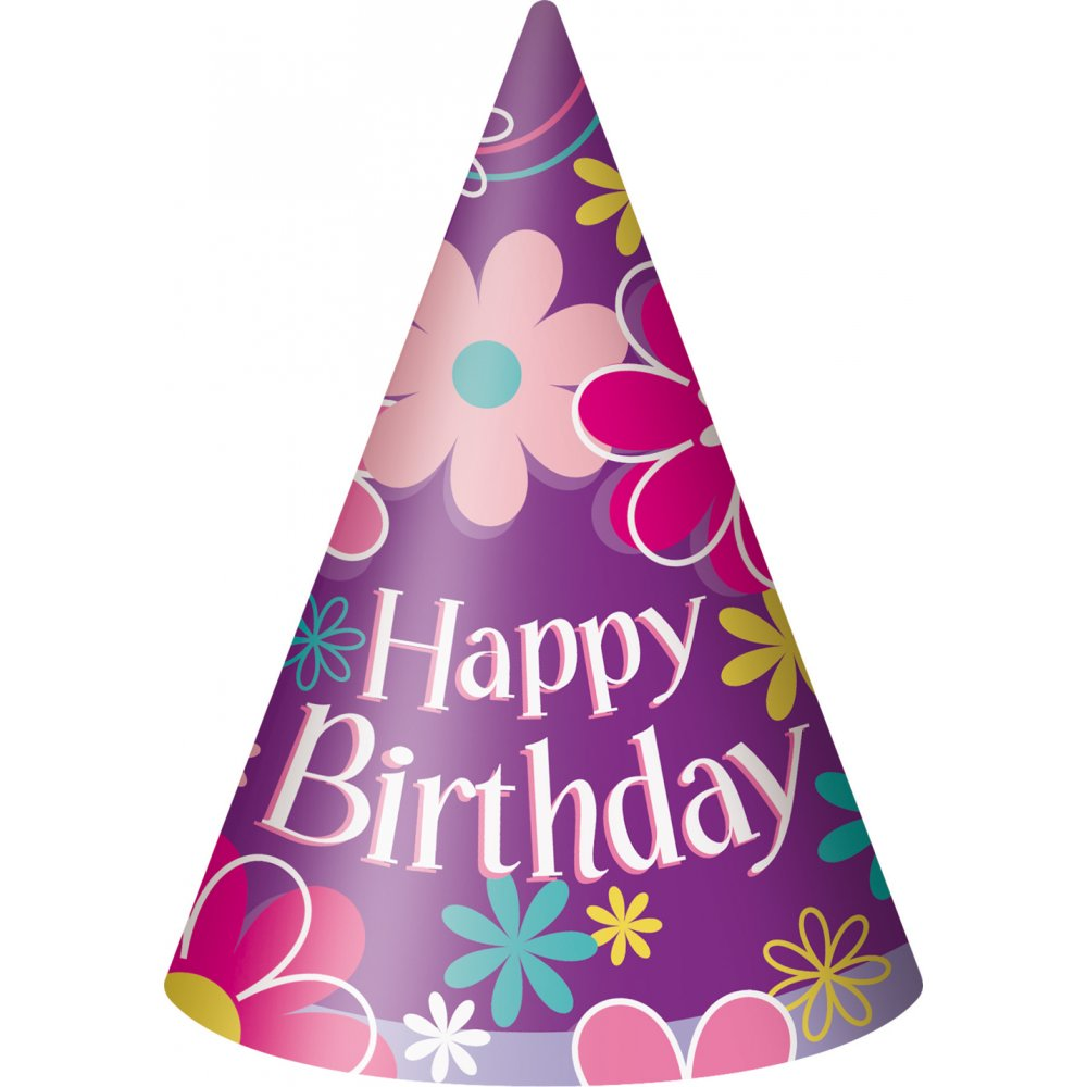 Pink Birthday Hat Png