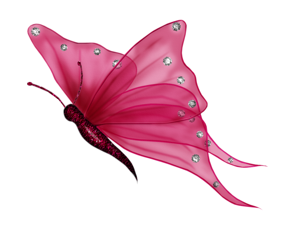 Pink Butterfly Png image #6744
