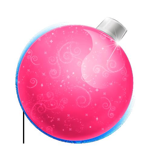 Free Icons Png Pink Christmas Ball