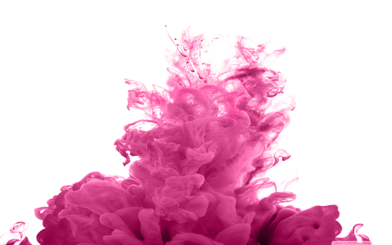 Pink Colored Smoke Png image #43273