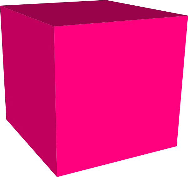 Pink Cube 3d Background image #47046