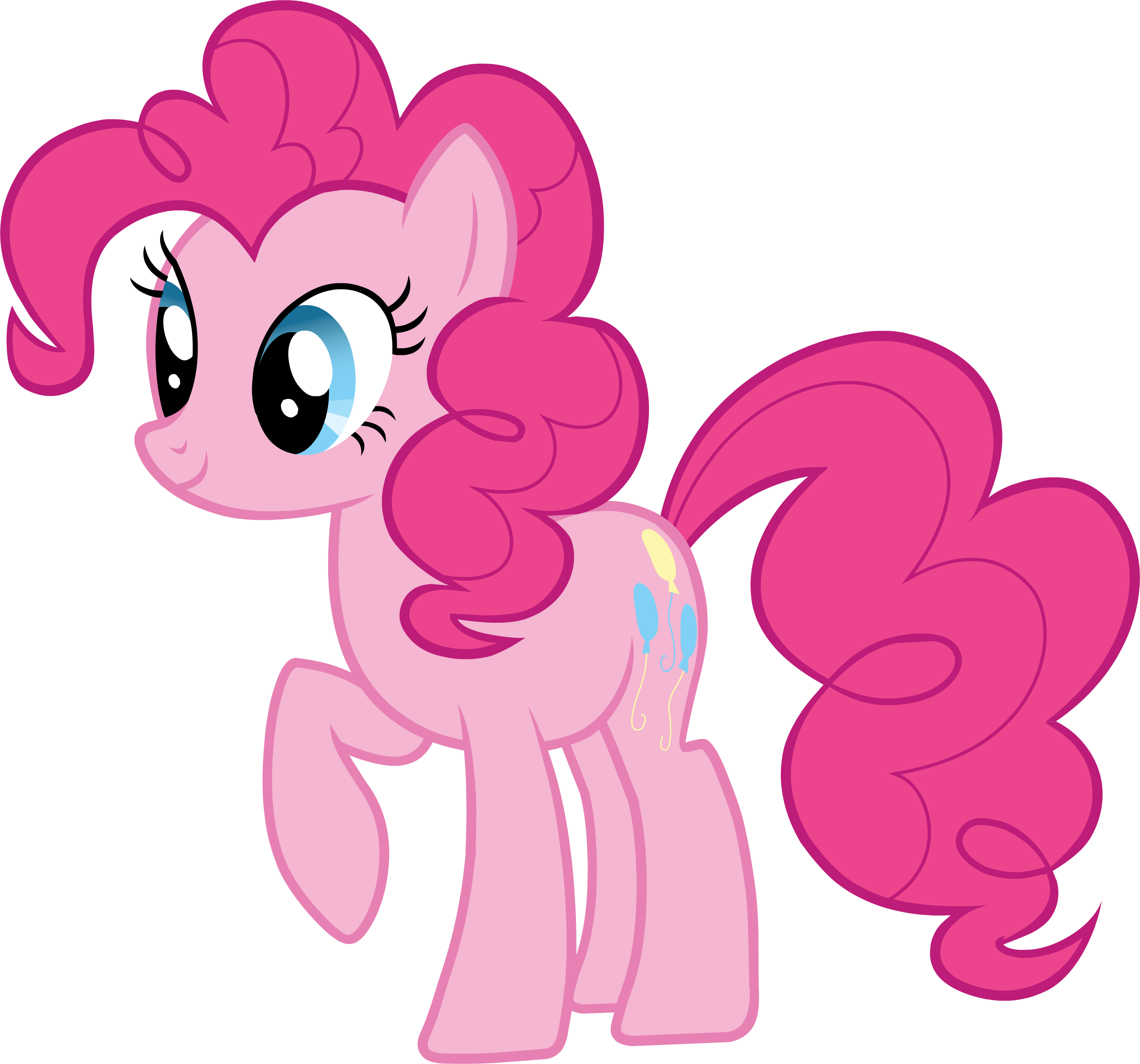 Pink Cute My Little Pony Clipart