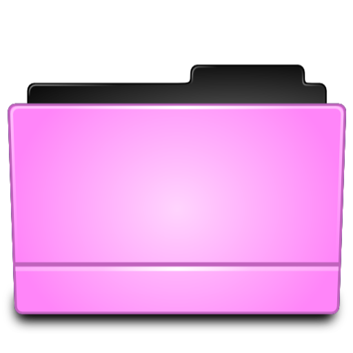 Pink Folder Directory Icon Png image #12386