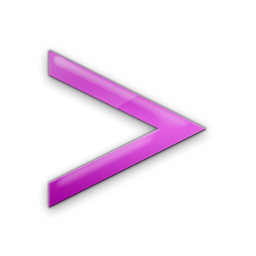 Pink Greater Than Sign Icon image #36394