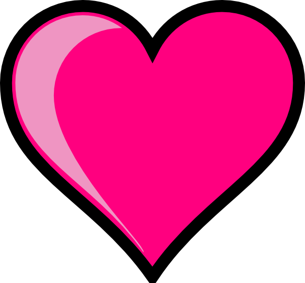 Pink Heart Clip Art Png image #44614