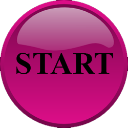 Pink Start Png Button image #44895