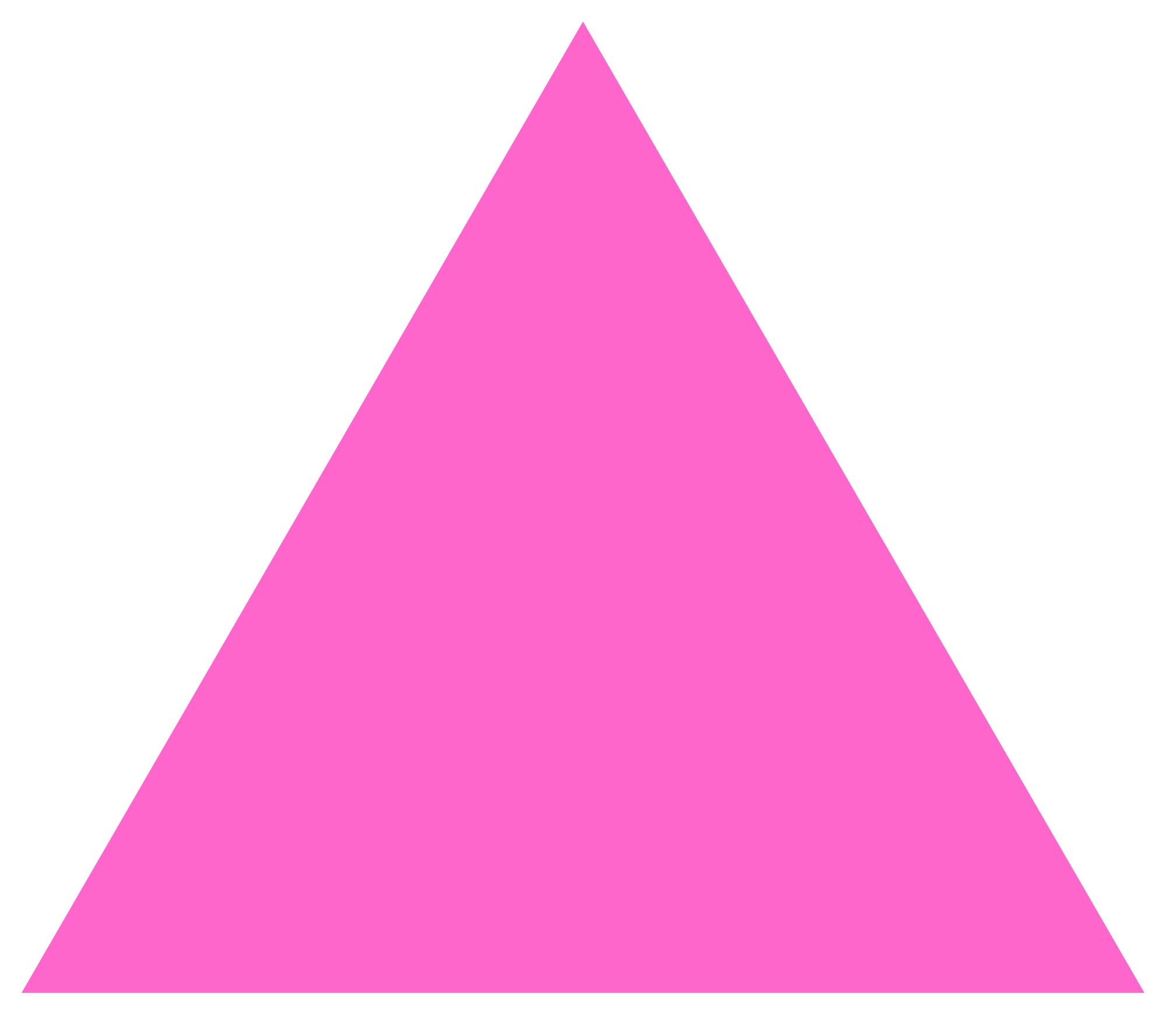 Pink Triangle Png image #42403