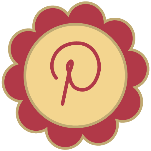 Pinterest Retro Icon Png image #3184