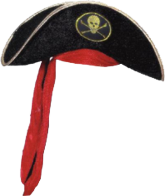 Png Best Pirate Hat Clipart