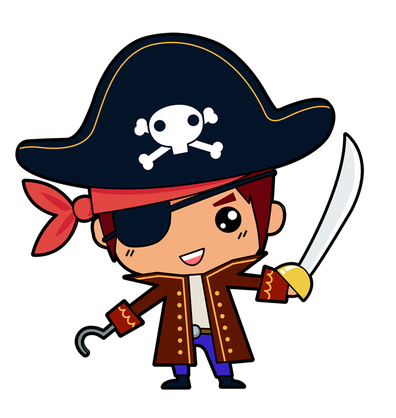Download Png Free Vector Pirate image #35012