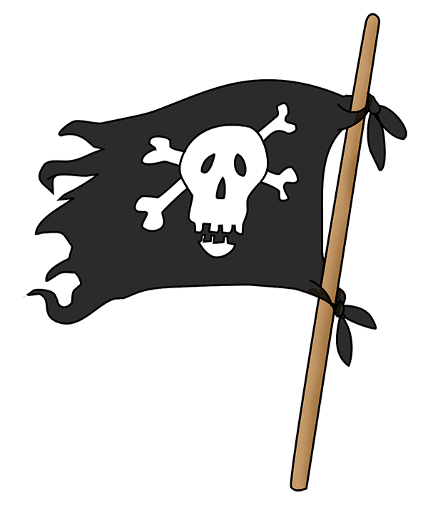 Pirates Flag Png image #35023