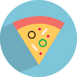 Free Download Vectors Pizza Icon