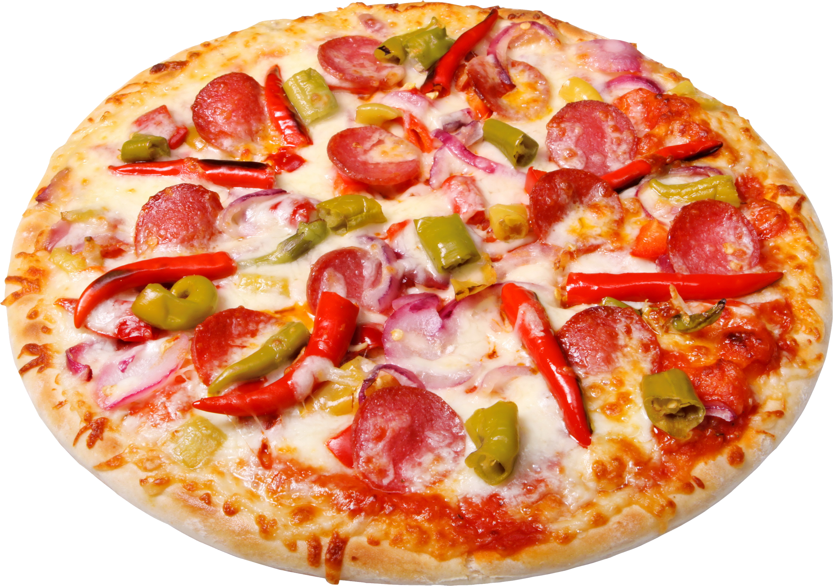 Sausage, pepper, pizza png