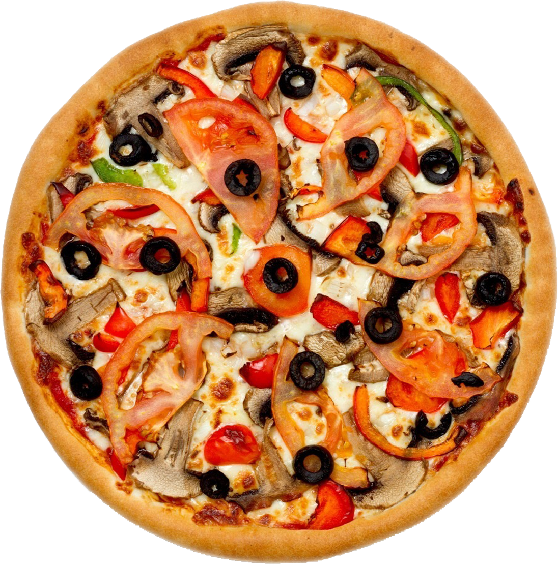 Olive Mixed Pizza Png image #19323